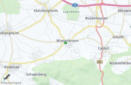 Stadtplan Wiesenbronn
