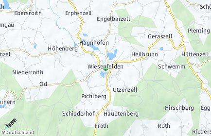 Stadtplan Wiesenfelden