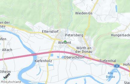 Stadtplan Wiesent
