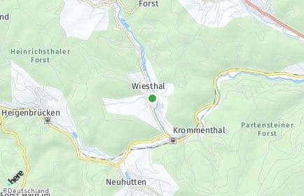 Stadtplan Wiesthal