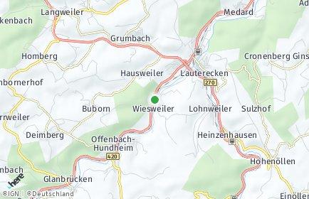 Stadtplan Wiesweiler