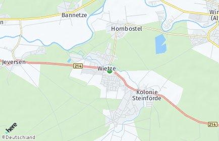 Stadtplan Wietze