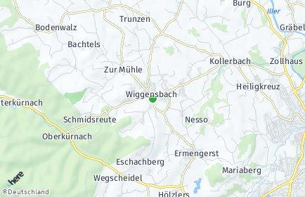 Stadtplan Wiggensbach