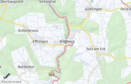 Stadtplan Wildberg (Schwarzwald)