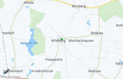 Stadtplan Wildberg (Vorpommern)