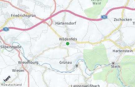 Stadtplan Wildenfels