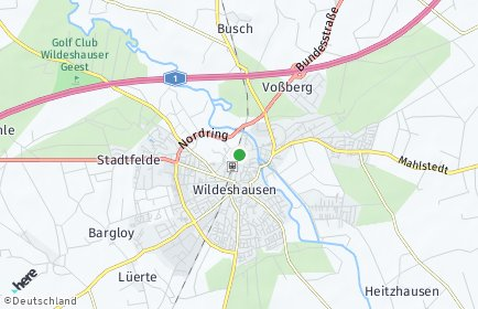 Stadtplan Wildeshausen