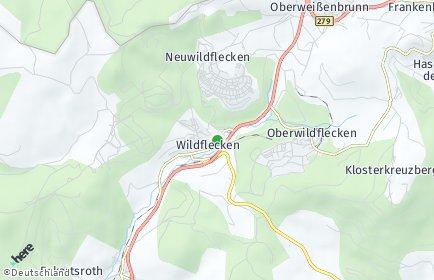 Stadtplan Wildflecken