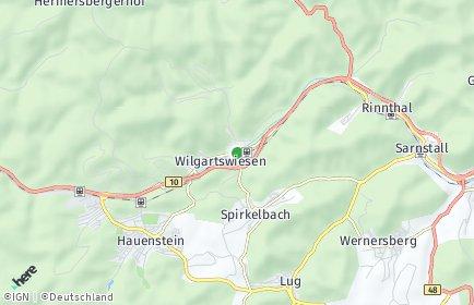 Stadtplan Wilgartswiesen