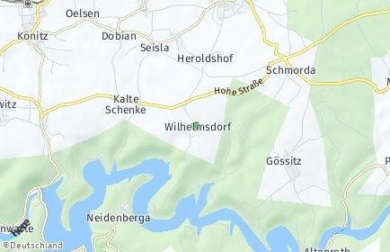 Stadtplan Wilhelmsdorf (Saale)