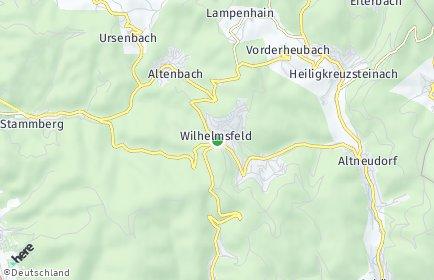 Stadtplan Wilhelmsfeld