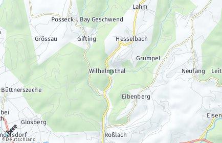 Stadtplan Wilhelmsthal