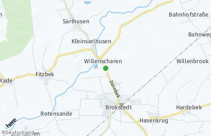 Stadtplan Willenscharen