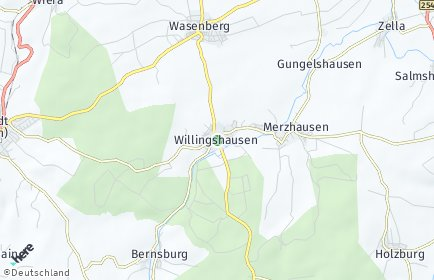 Stadtplan Willingshausen