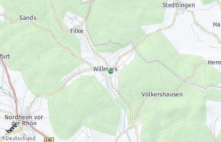 Stadtplan Willmars