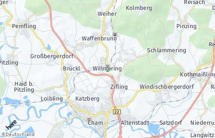 Stadtplan Willmering