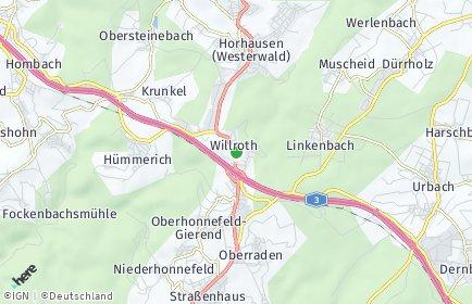 Stadtplan Willroth