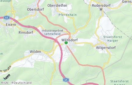 Stadtplan Wilnsdorf