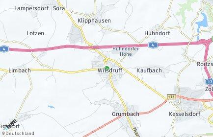 Stadtplan Wilsdruff