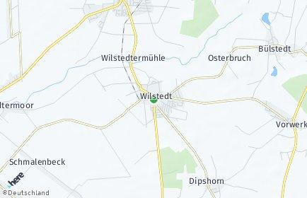 Stadtplan Wilstedt