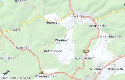 Stadtplan Wimbach