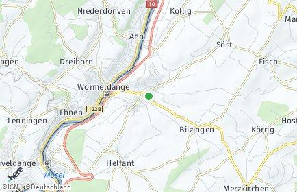 Stadtplan Wincheringen