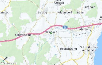 Stadtplan Windach