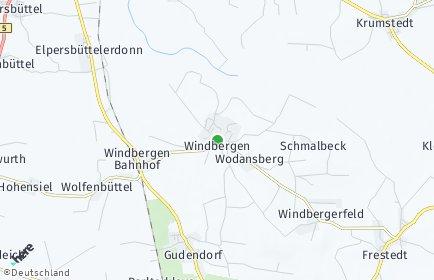 Stadtplan Windbergen