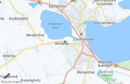Stadtplan Windeby