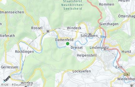 Stadtplan Windeck