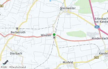 Stadtplan Winden (Pfalz)