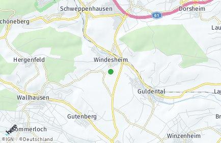 Stadtplan Windesheim