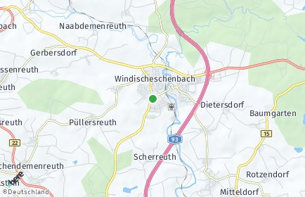 Stadtplan Windischeschenbach