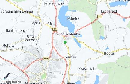 Stadtplan Windischleuba OT Remsa