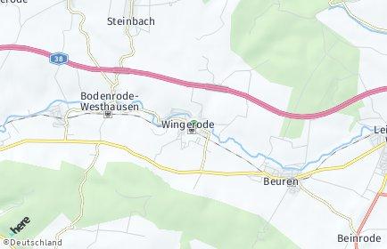 Stadtplan Wingerode