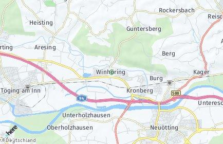 Stadtplan Winhöring