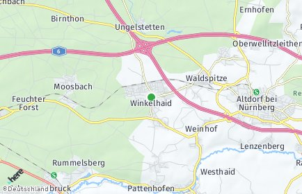 Stadtplan Winkelhaid