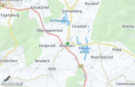 Stadtplan Winklarn