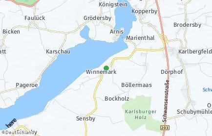 Stadtplan Winnemark