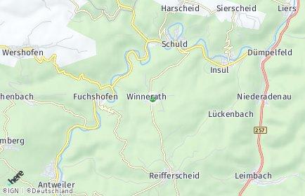 Stadtplan Winnerath