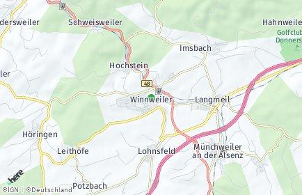 Stadtplan Winnweiler