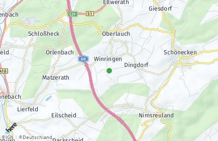 Stadtplan Winringen