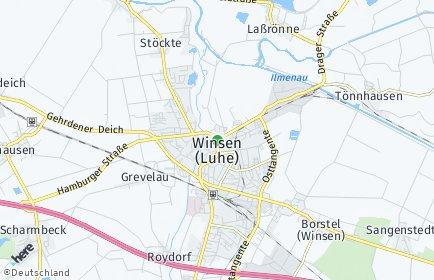 Stadtplan Winsen (Luhe)