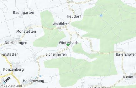 Stadtplan Winterbach (Schwaben)