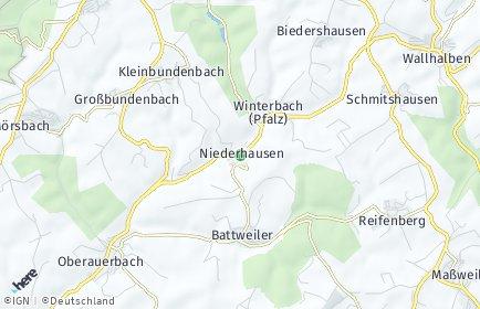 Stadtplan Winterbach (Pfalz)