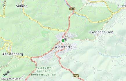 Stadtplan Winterberg