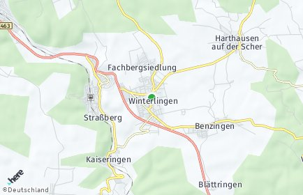 Stadtplan Winterlingen