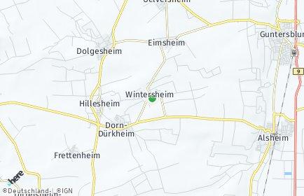 Stadtplan Wintersheim