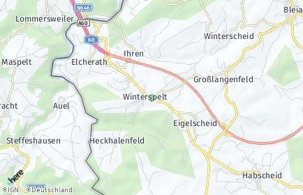 Stadtplan Winterspelt