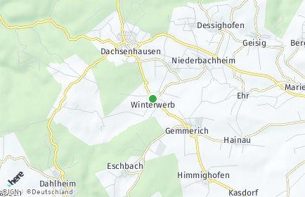 Stadtplan Winterwerb